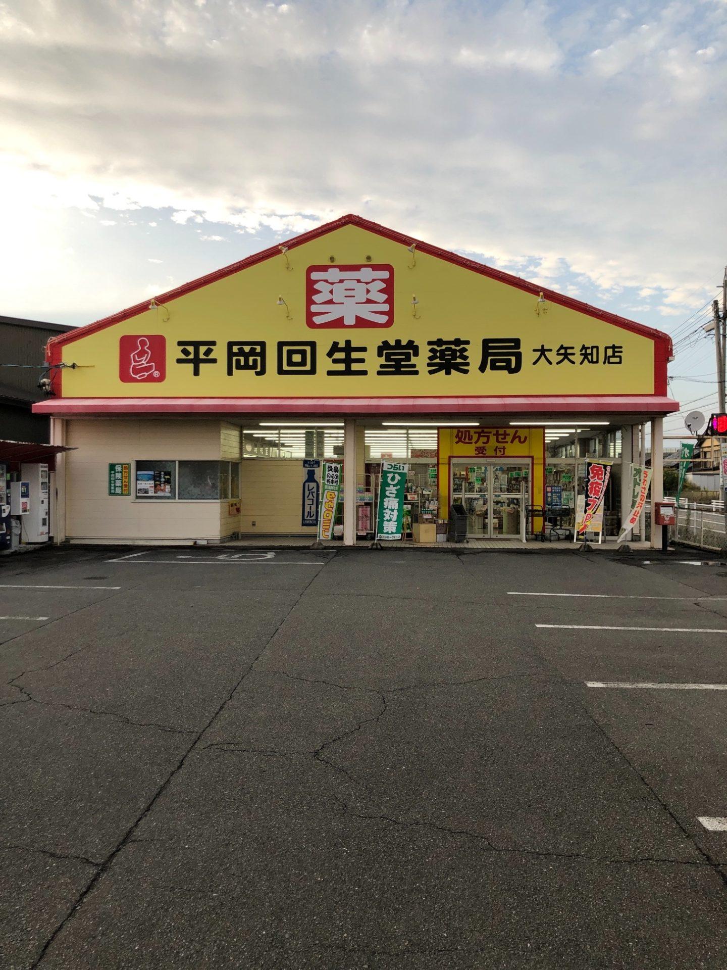 平岡回生堂薬局 大矢知店